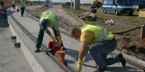 Siebens Spoorbouw – Hemiksem - Montage & laswerk